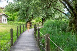 gelukkig zijn, minder stress met wandelen