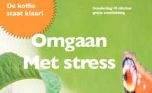 voorlichting omgaan met stress